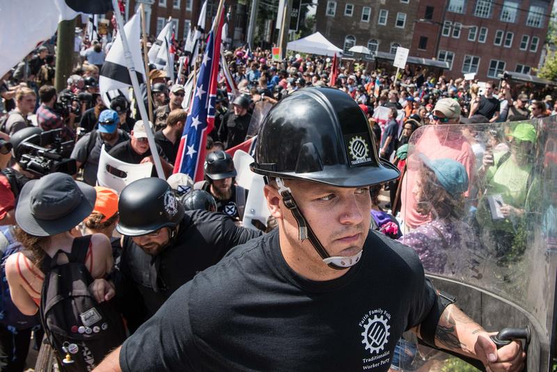Unite the Right Charlottesville photos Alt right kkk nazi 103846