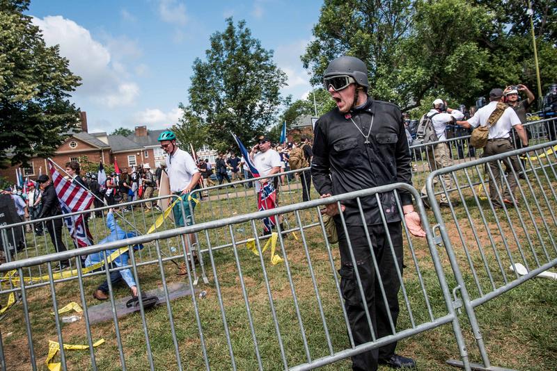 Unite the Right Charlottesville photos Alt right kkk nazi 104469