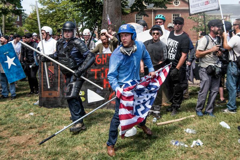 Unite the Right Charlottesville photos Alt right kkk nazi 104543