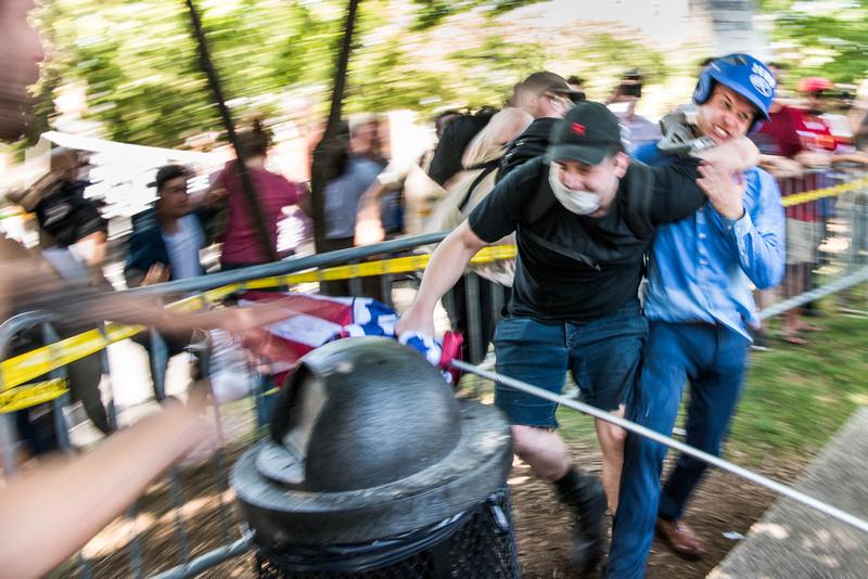 Unite the Right Charlottesville photos Alt right kkk nazi 104623-2