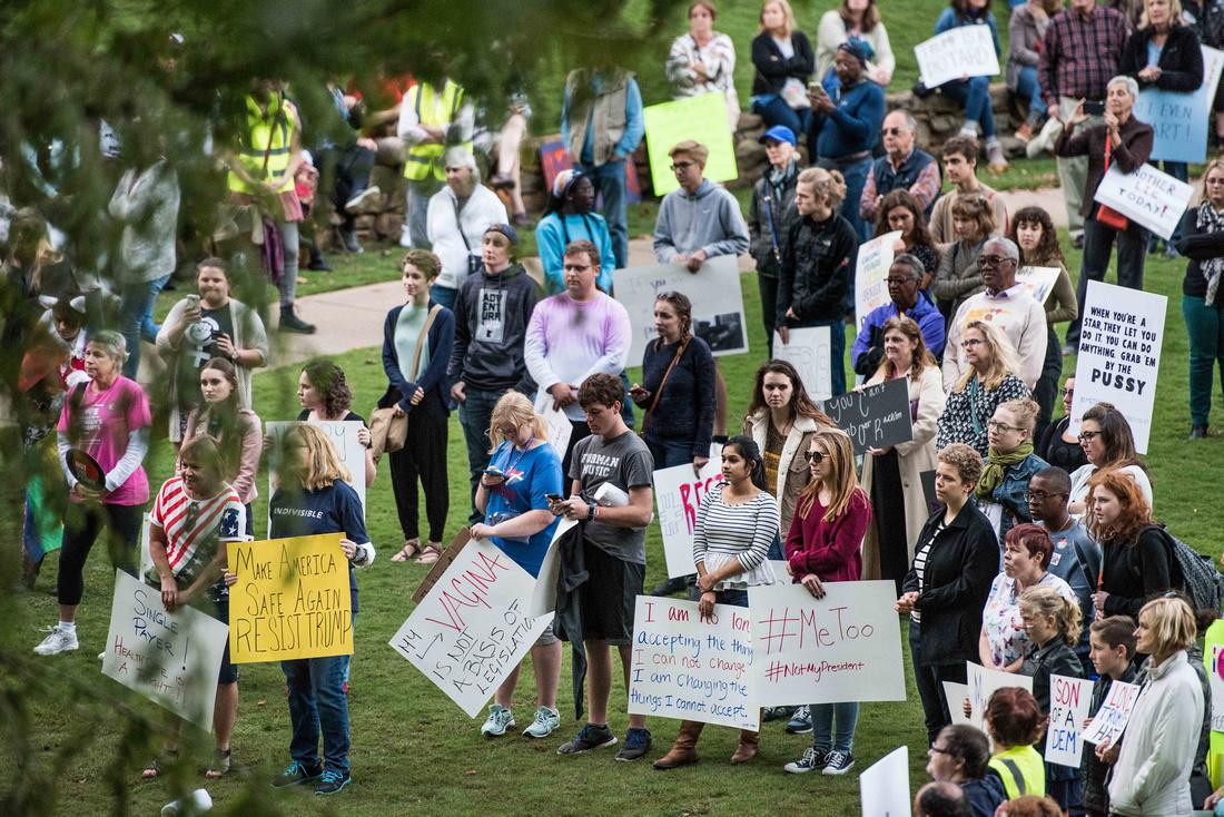 Anti Trump McMaster protest rally greenville sc  166668