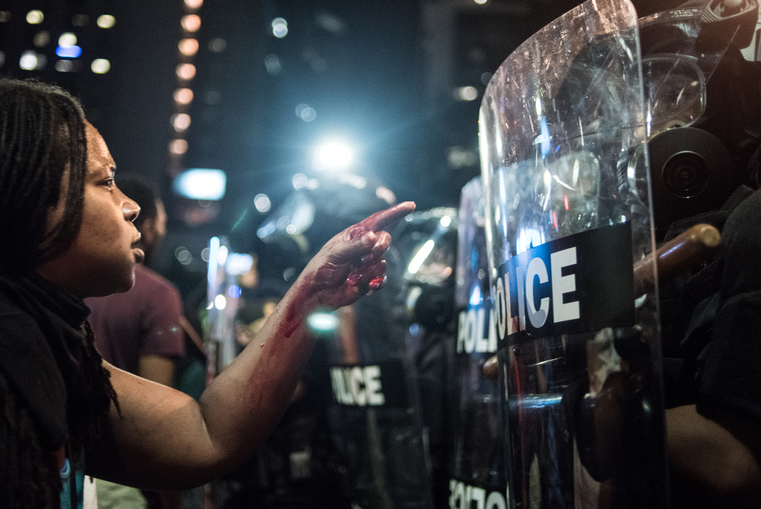 Protests break out in charlotte 43489