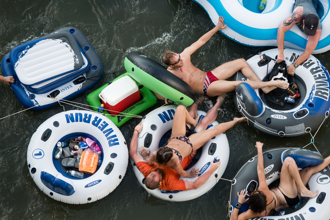 Tubing on the Congaree River Columbia SC 2515