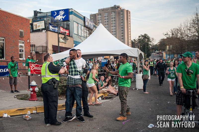 St. Patrick's Festival in Five Points - Columbia SC - Photos by South Carolina Photographer Sean Rayford