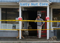 Salty Nut Cafe Fire 2012
