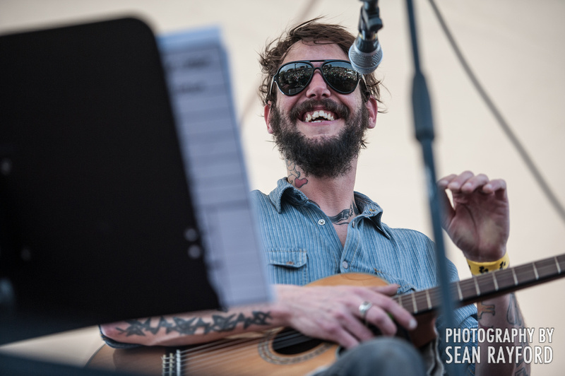 Ben Bridwell - Band of Horses - St. Patrick's Festival in Five Points - Columbia SC - Photos by South Carolina Photographer Sean Rayford