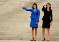 Sarah Palin and Nikki Haley in Columbia SC