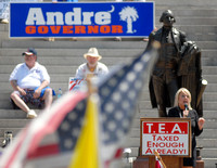 Tea Party Rally - Columbia SC