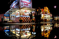 South Carolina State Fair Photos - Rainy Night