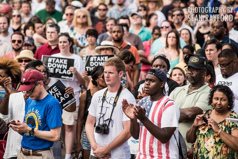 Take Down the Flag Rally - Columbia, SC