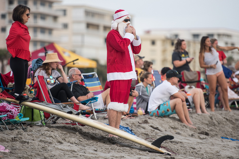 surfing santas by columbia sc photographer