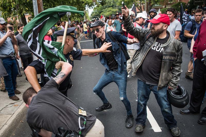 Unite the Right Charlottesville photos Alt right kkk nazi 103635