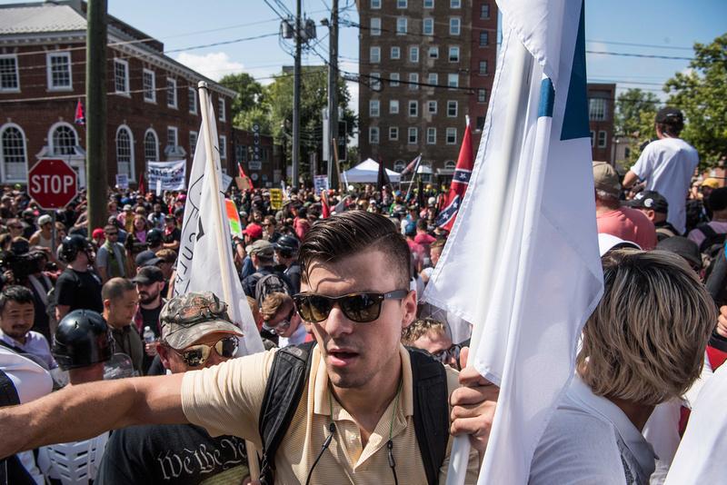 Unite the Right Charlottesville photos Alt right kkk nazi 103968