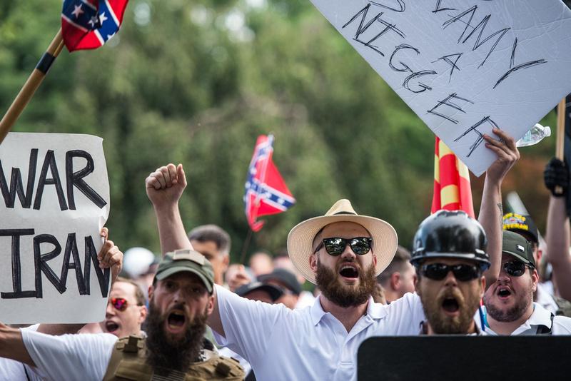 Unite the Right Charlottesville photos Alt right kkk nazi 104835