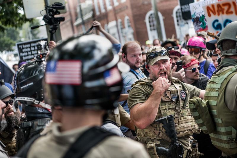 Unite the Right Charlottesville photos Alt right kkk nazi 103764