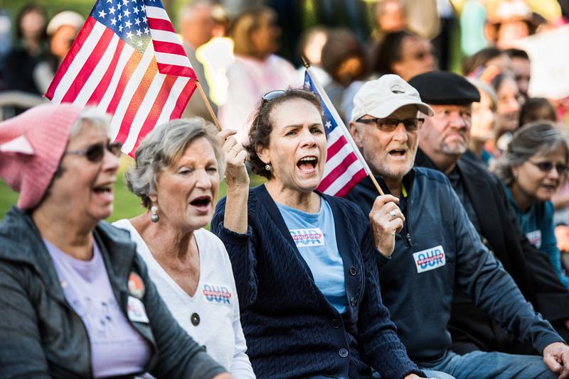 Anti Trump McMaster protest rally greenville sc  166537
