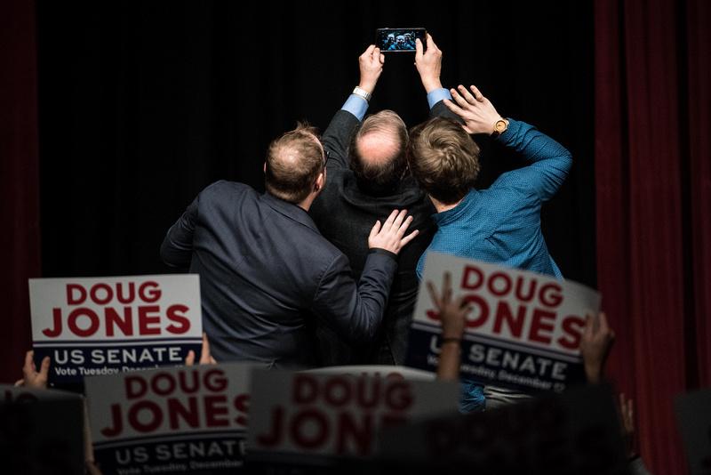 roy moore vs doug jones for senate alabama photos 267365