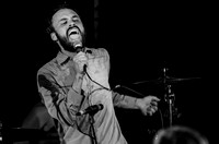 Aaron Weiss of mewithoutYou at New Brookland Tavern in West Columbia, SC