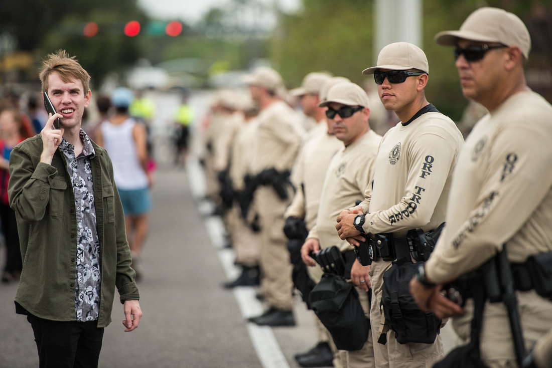 Richard Spencer visits UF Gainesville Photos 170598-2
