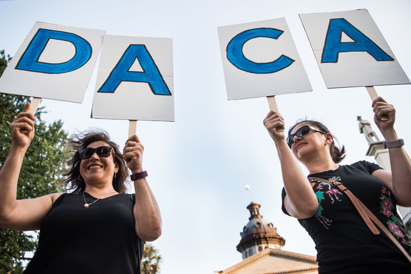 Daca Prayer Vigil Photos Columbia SC 127734