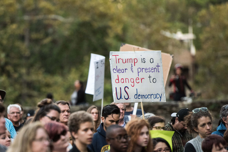 Anti Trump McMaster protest rally greenville sc  166850