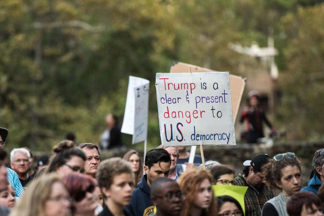 Anti Trump McMaster protest rally greenville sc  166850