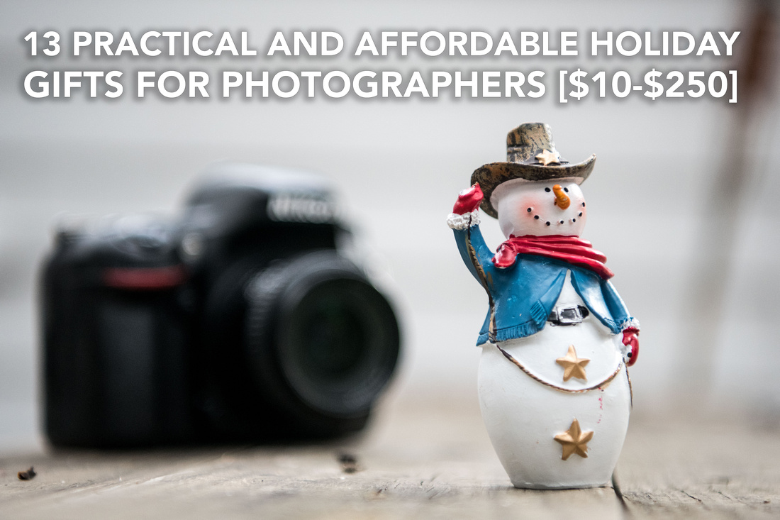 practical and affordable gift guide for photographers