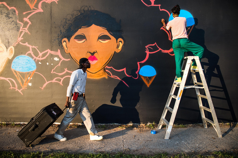 Cedric Umoja Mural columbia sc 24083_