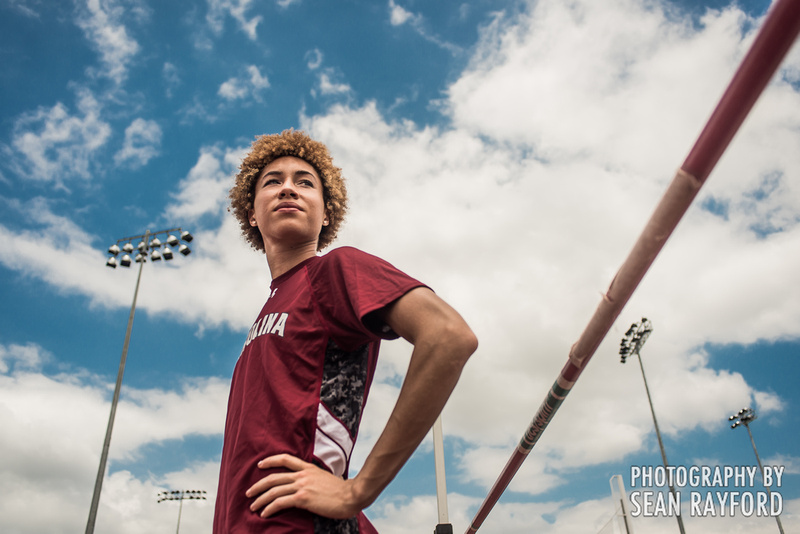 South Carolina High jumper Jeannelle Scheper