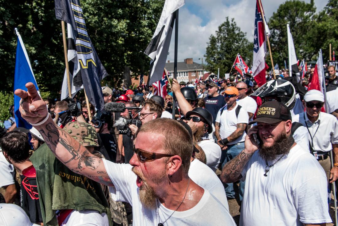 Unite the Right Charlottesville photos Alt right kkk nazi 103991