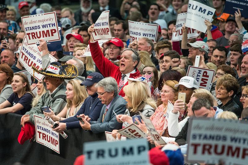 Trump North Carolina  by Columbia Sc photographer Sean Rayford