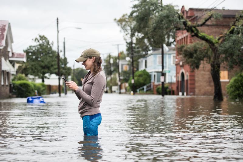 Hurricane Matthew coverage in Charleston 63325