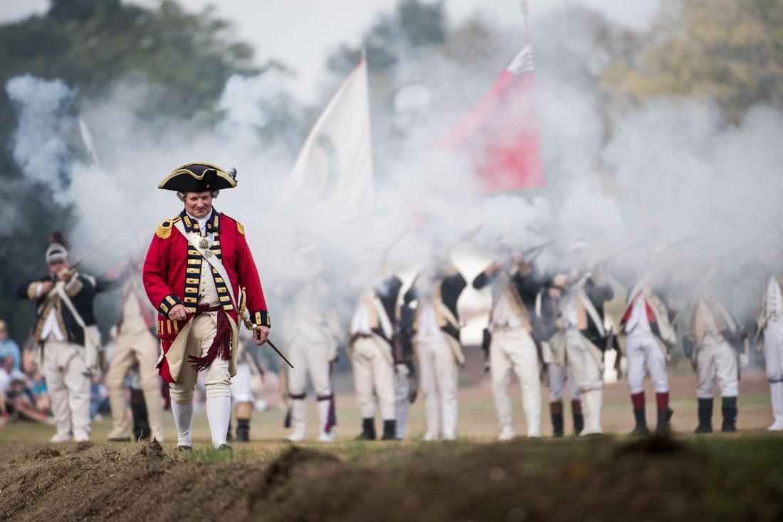 camden revolutionary war field days photos 182867