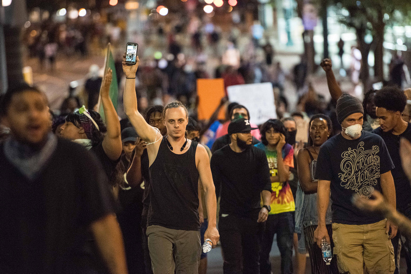Protests Charlotte NC  52016