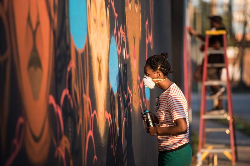 Cedric Umoja Mural columbia sc 24116_