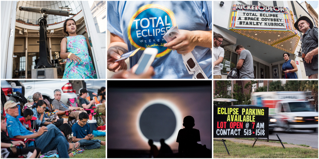 Eclipse photography columbia sc