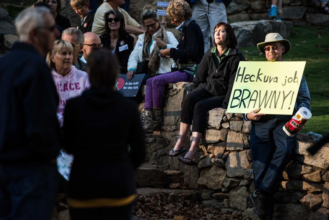 Anti Trump McMaster protest rally greenville sc  166419