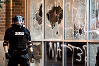 Protests break out in charlotte 45366