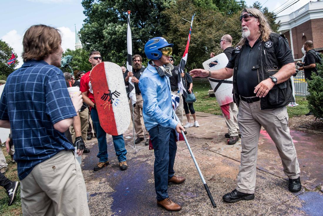 Unite the Right Charlottesville photos Alt right kkk nazi 104365